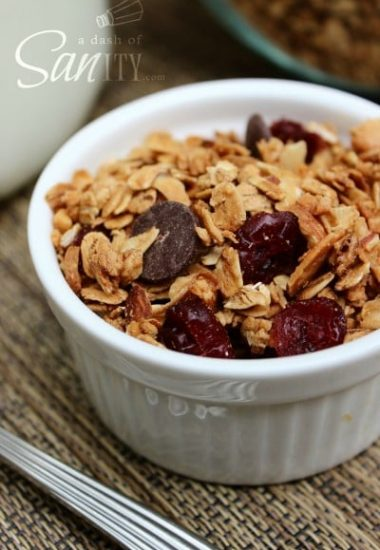 Maple-Cinnamon Granola