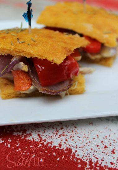 Roasted Chicken & Vegetable Medley Sliders