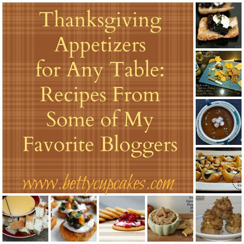Thanksgiving Appetizer Round-Up