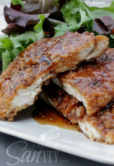 Crispy Honey Garlic Chicken