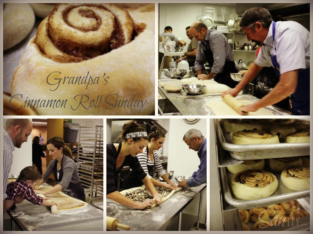 Grandpa's Cinnamon Roll Sunday