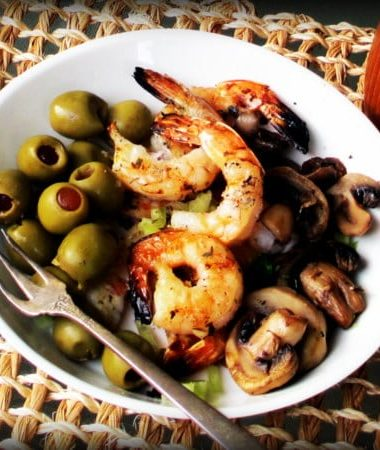 Piquant Grilled Shrimp with Chimichurri Seasoning