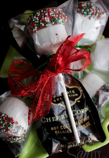 Marshmallow Hot Chocolate Dippers