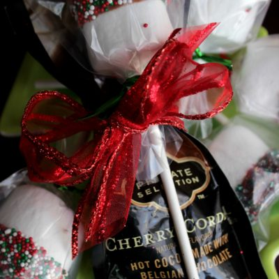 Marshmallow Hot Chocolate Dippers –Teacher Treats
