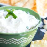 Cream Cheese Rangoon Dip with Wonton Dippers_ _recipe _appetizer _easy highheelsandgrills_com