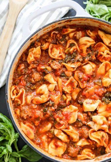 Tuscan Tortellini Soup
