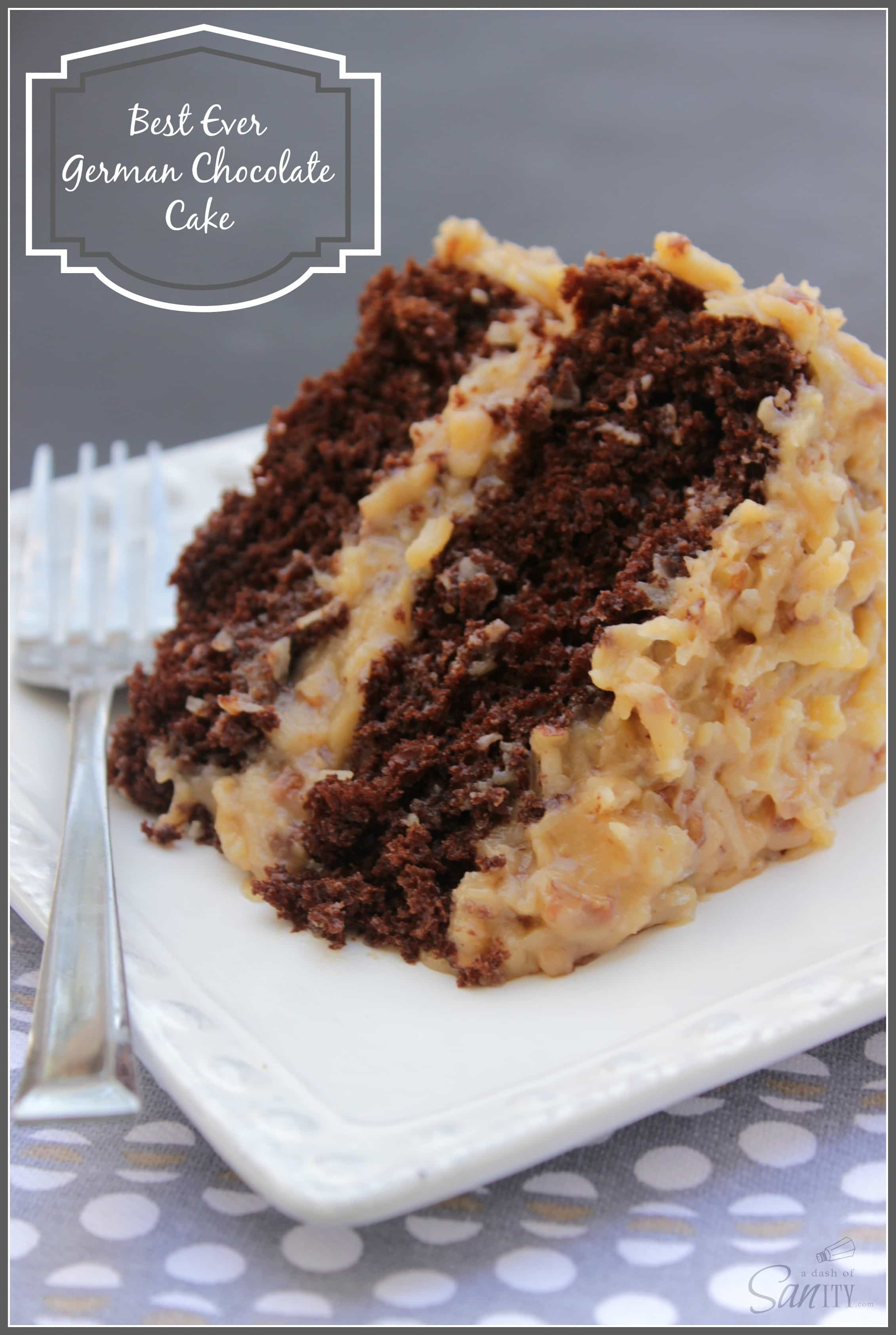 How To Make A German Chocolate Cake Moist