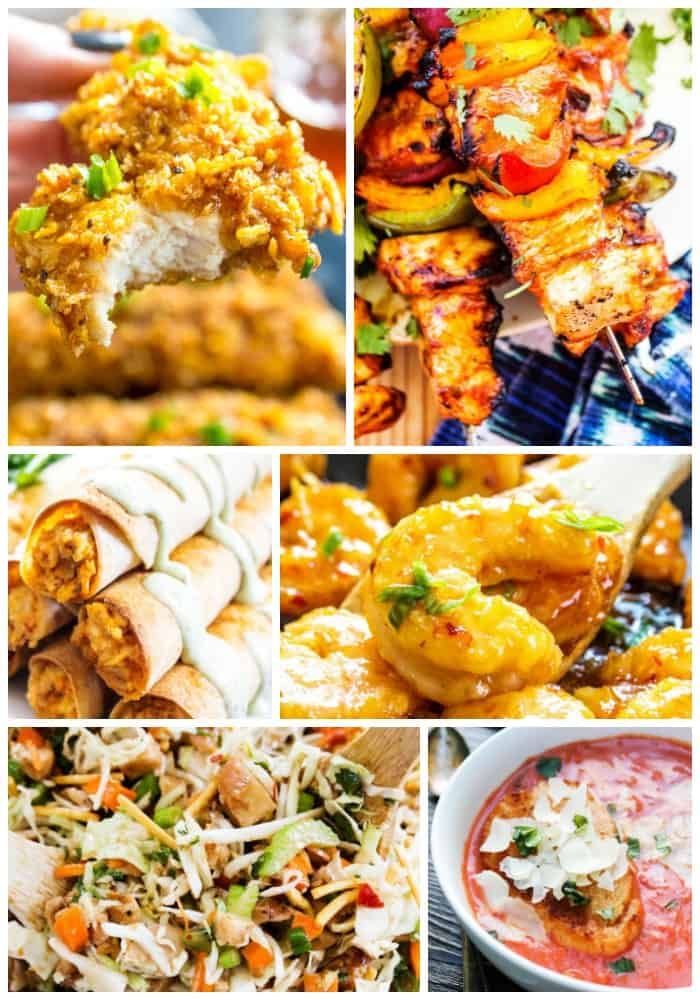 12 Deliciously Easy Meals for Spring collage