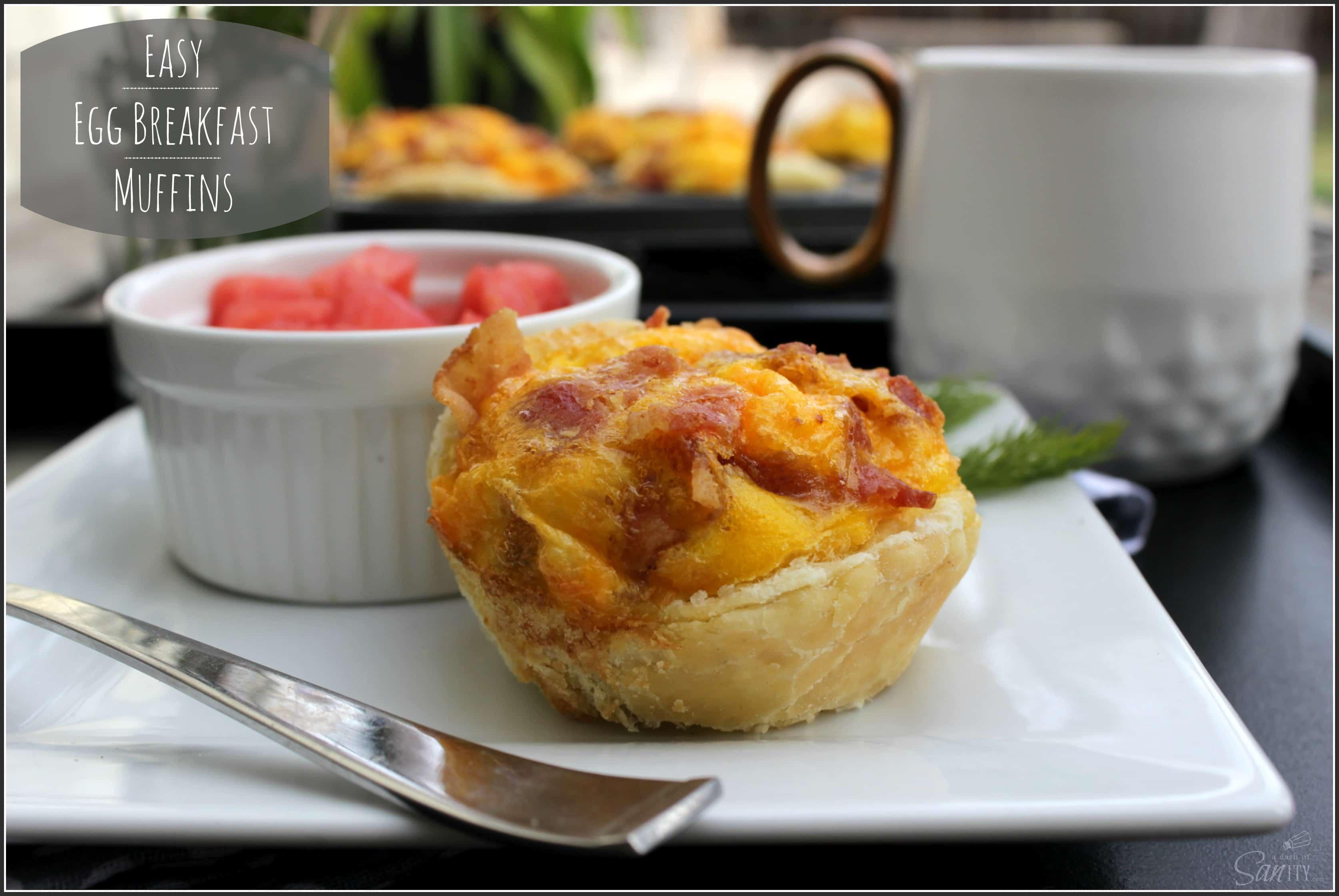 Easy Egg Breakfast Muffins