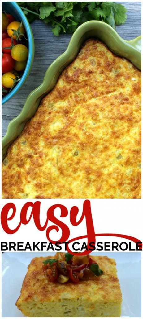 Easy Breakfast Casserole pinterest image