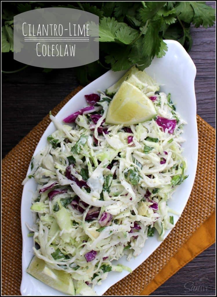 cilantro lime coleslaw