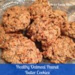 healthycookie oatmeal peanut butter