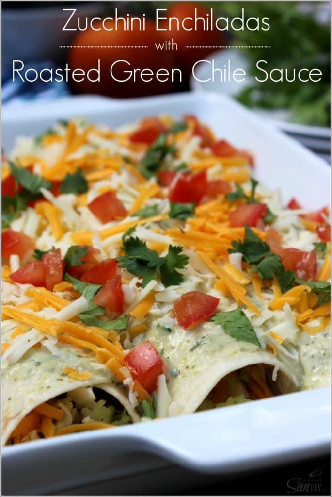 Zucchini Enchiladas main