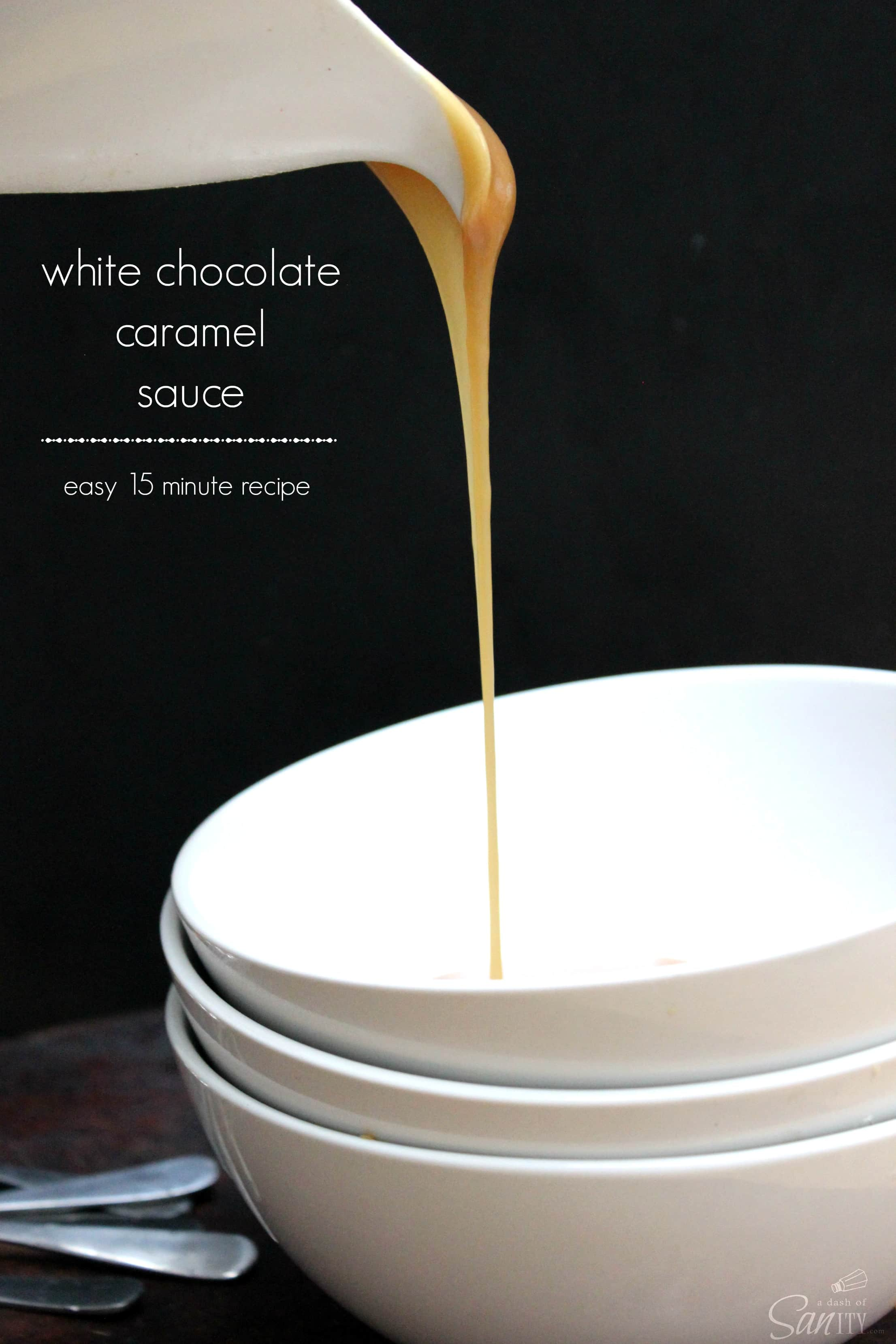 White Chocolate Caramel Sauce