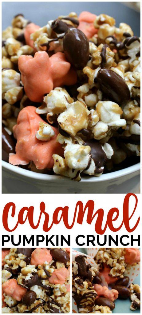 Caramel Pumpkin Crunch pinterest image