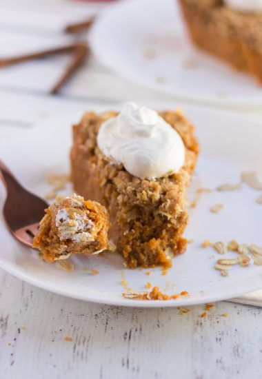 Pumpkin Crisp Pie