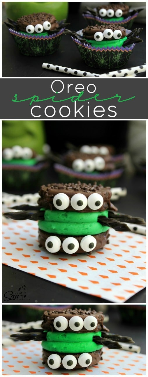 Oreo Monster Cookie Sandwiches