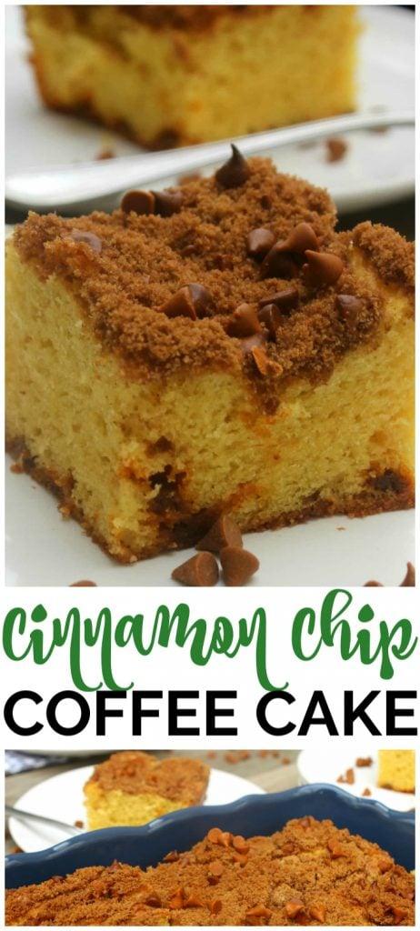 Cinnamon Chip Coffee Cake pinterest image