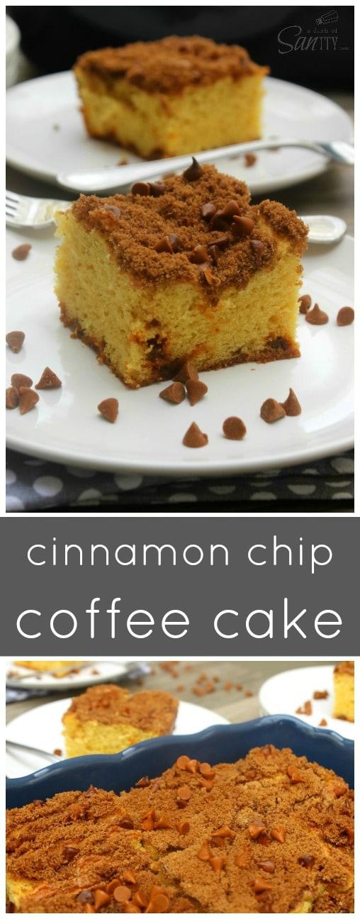 Cinnamon Chip Coffee Cake