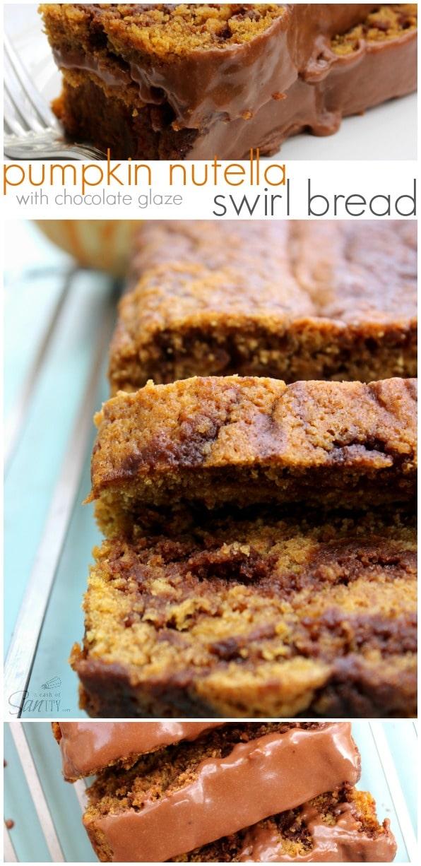 Pumpkin Nutella Bread Recipe — Dishmaps