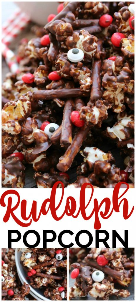 Rudolph Popcorn pinterest image