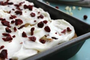 cranberry bliss rolls frosting