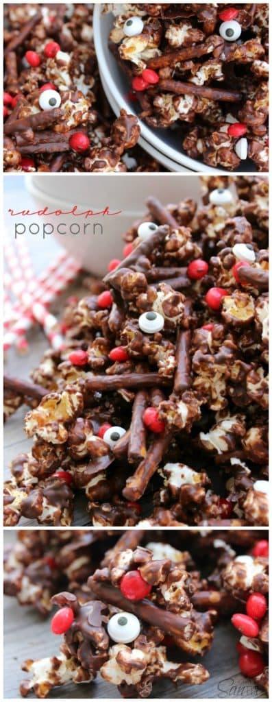 rudolph popcorn pinterest
