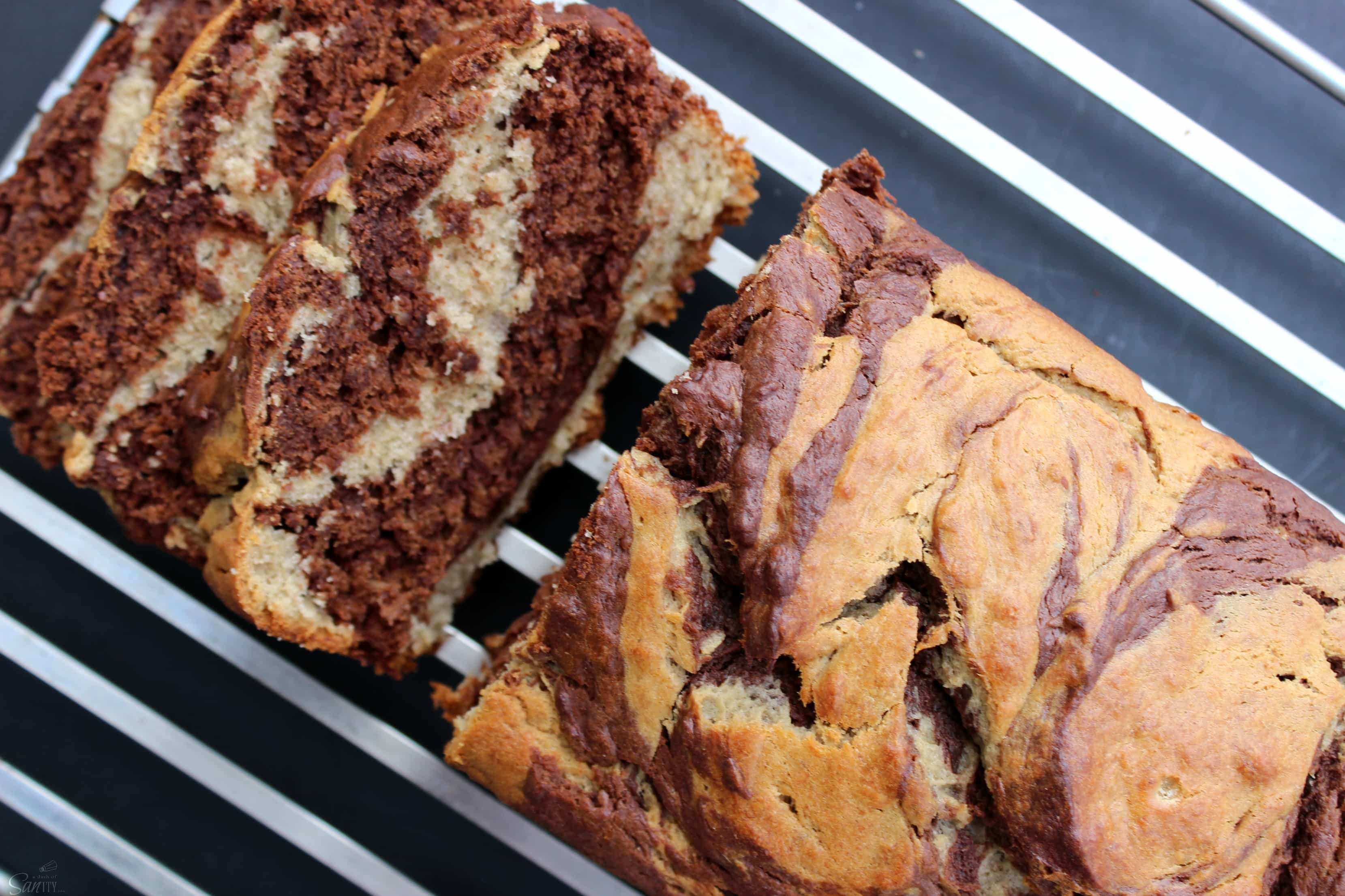 Chocolate Peanut Butter Banana Swirl Bread combines 3 of my favorite ...