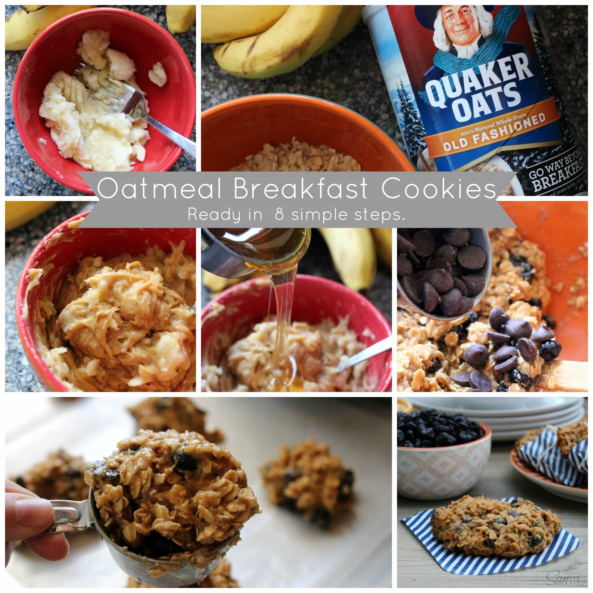 photo collage of how to make the recipe