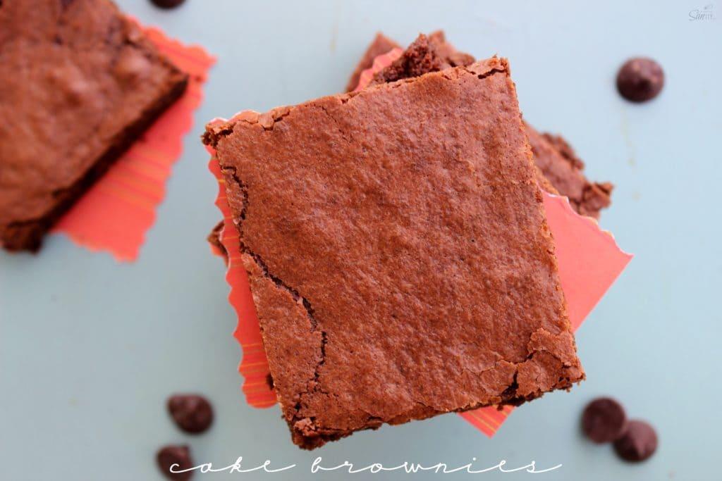 cake brownies view main