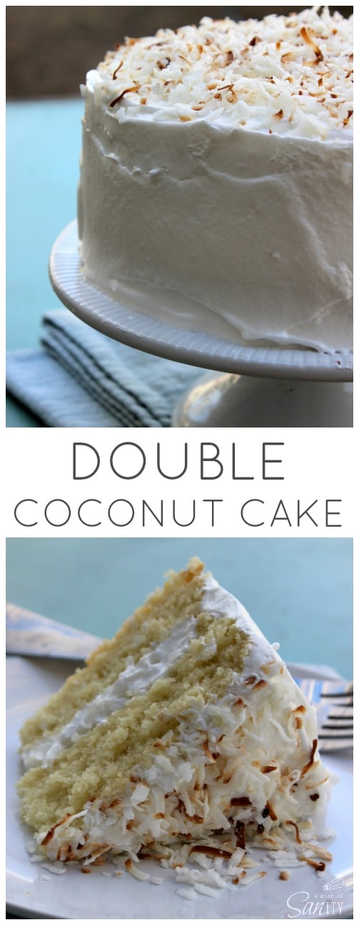 Double Coconut Cake