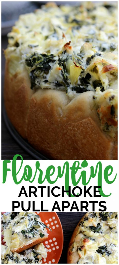 Florentine Artichoke Pull Aparts pinterest image