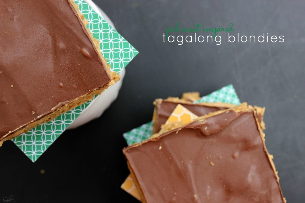 Tagalong Blondies view