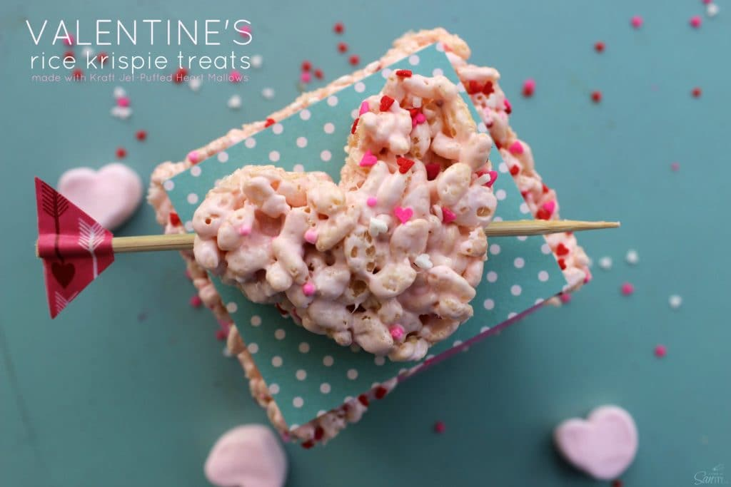 sprinkles, heart, rice krispie treats, cookie cutter, arrow, valentines, candy heart, marshmallows