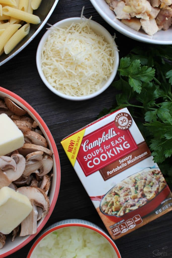 Savor this Chicken Marsala Stroganoff dish made with chicken, mushrooms, and Marsala wine with the classic creamy sauce that a stroganoff typically has.