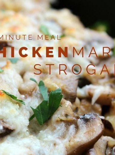Chicken Marsala Stroganoff