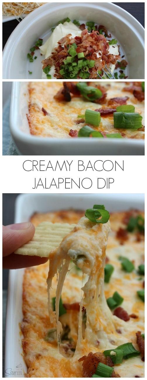 Creamy Bacon Jalapeno Dip
