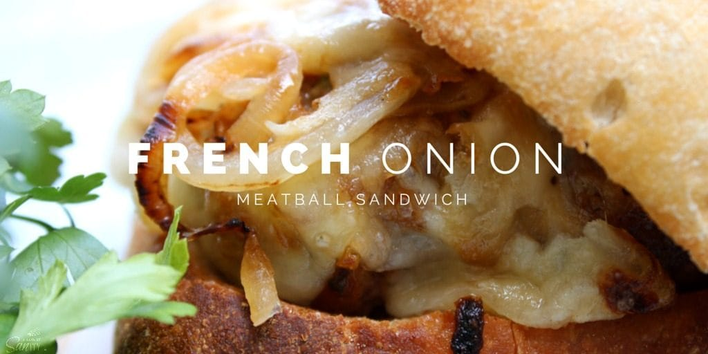 French Onion Meatball Sandwiches Twitter