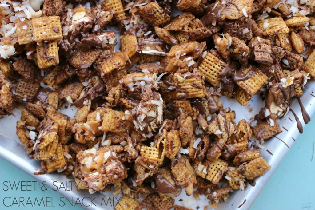 Sweet & Salty Caramel Snack Mix view