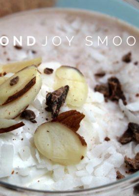 Almond Joy Smoothie & Blendtec Blender Giveaway