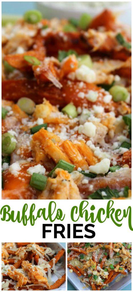 Buffalo Chicken Fries pinterest image