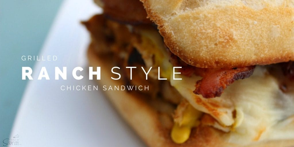 """Grill season isjust in time to make these delicious Grilled """"Ranch"""" Style Chicken Sandwiches, perfect for barbeques, get-togethers, or just an easy dinner."""