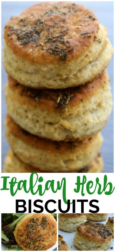 Italian Herb Biscuits pinterest image