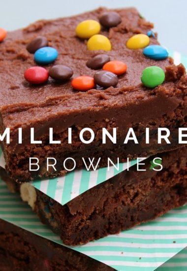 Millionaire Brownies