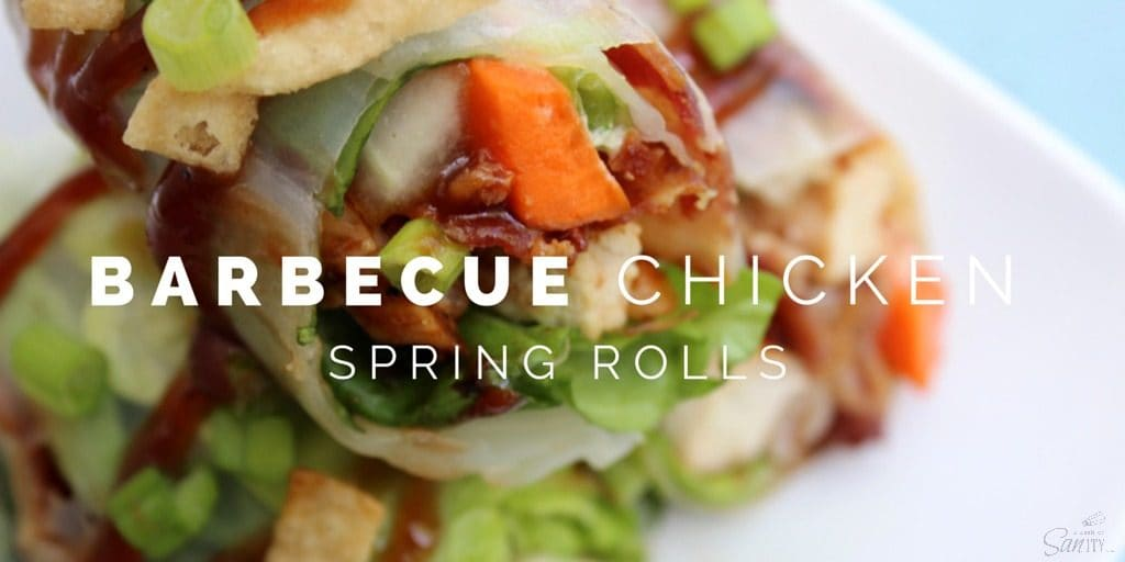 Barbecue Chicken Spring Rolls Twitter