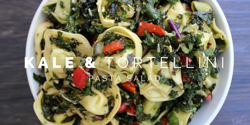 Kale & Tortellini Pasta Salad Twitter