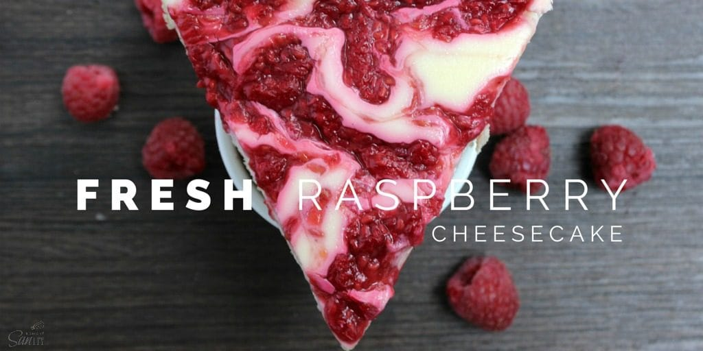 Light Fresh Raspberry Cheesecake Twitter