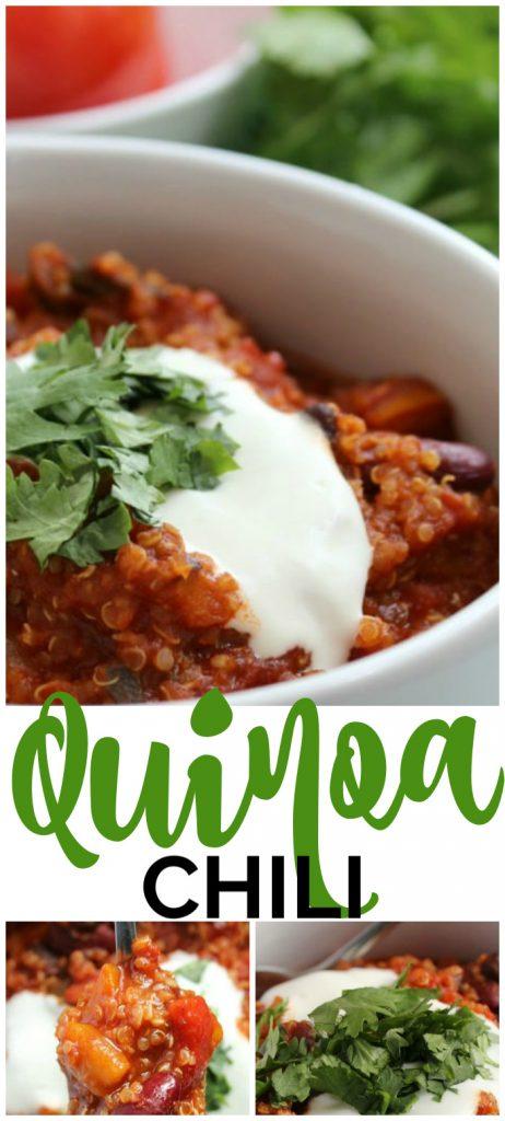 Quinoa Chili Pinterest Image