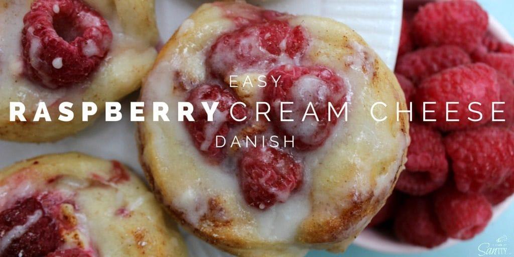Easy Raspberry Cream Cheese Danish
