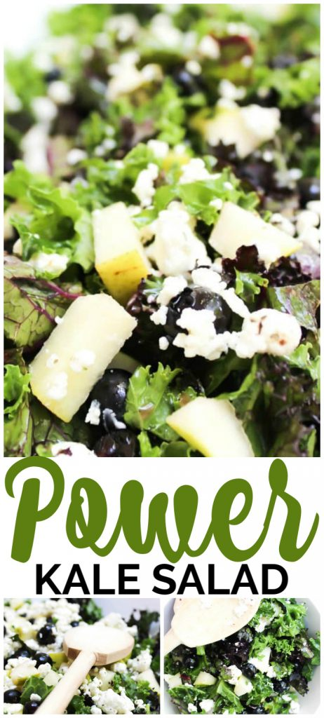 Power Kale Salad pinterest image